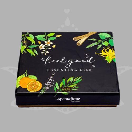 FEEL GOOD komplekt aroomilõhnalised eeterlikud õlid 2