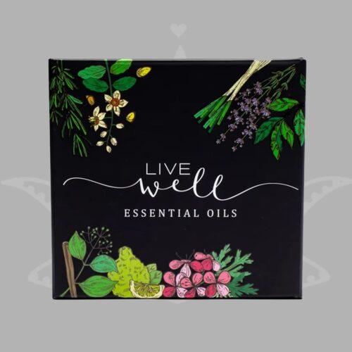 LIVE WELL komplekt aroomilõhnalised eeterlikud õlid 1